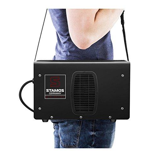Schweißgerät Inverter Schweißgerät Elektroden E-Hand MMA (250 A, 8 Meter Schlauchpaket, Hot Start, Display LED, IGBT, Einschaltdauer 60%, inkl. Zubehör) Stamos Germany - 6