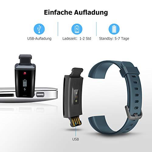 Letsfit ID130PlusHR Fitness Tracker - 7
