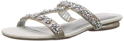 Tamaris - 27191, Pantofole Donna Argento (Silber (ROSE METALLIC 952))
