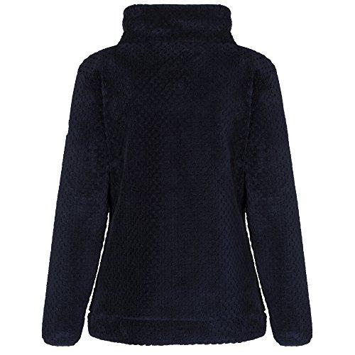 Regatta Ladies Heze Half Zip Fleece RRP £40 Bleu Marine