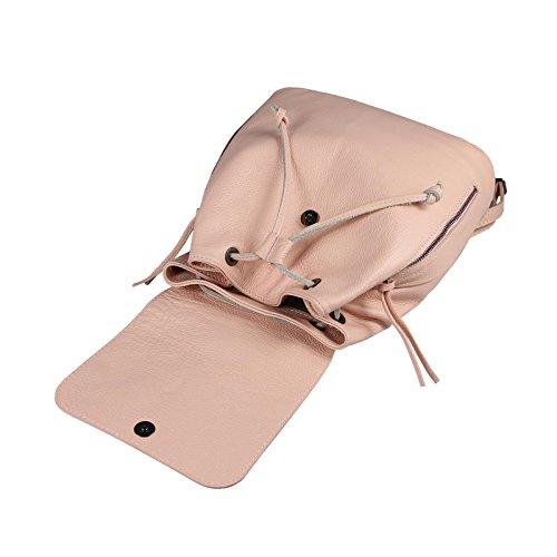 OBC Only-Beautiful-Couture, Borsa a zainetto donna grigio grigio scuro ca.: 35x30x12 cm (BxHxT) rosa antico