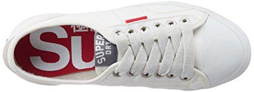 Superdry Low Pro Sneaker Winter Weiß–Damen Low Top Turnschuhe White