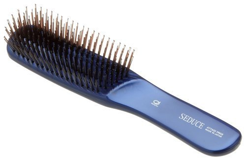 IKEMOTO Seduce Hair Care Brush (L) SEN-705-BL Japan Import by Ikemoto
