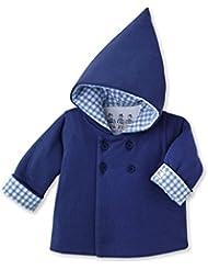 Petit Bateau 16332 - Sweat-shirt à capuche - Manches longues - Bébé garçon