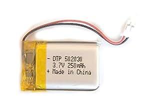 Accu Batterie Li-po 3.7V 1S 250mAh 502030 Avec Connecteur