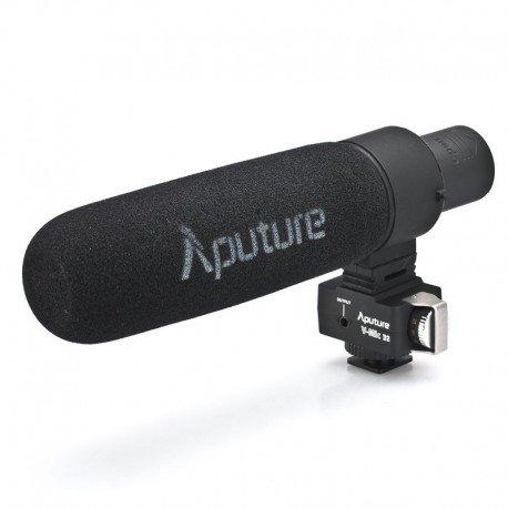 Aputure V-Mic D2 fucile condensatore microfono - schermo del vento, vento scudo, cavo di segnale, cavo Audio