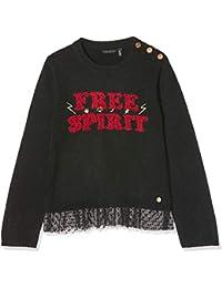 IKKS Junior Pull Tricot Brode Free Spirit suéter para Niñas
