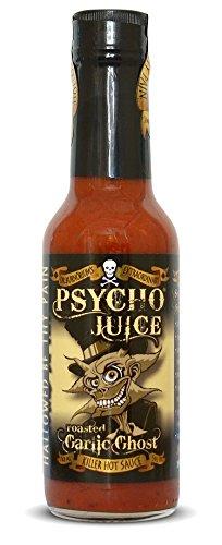 Psycho Juice pimiento asado fantasma de ajo salsa picante
