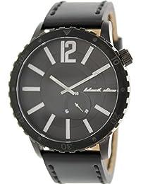 Black Dice BD 069 01 - Reloj analógico de cuarzo para hombre con correa de piel, color negro