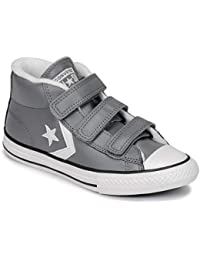 b0605c22ba93 Converse Unisex Kids  Lifestyle Star Player 3v Mid Low-Top Sneakers