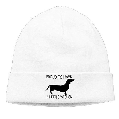 Proud to Have A Little Wiener Men's&Women's Beanie Hat Winter Warm Daily Hat