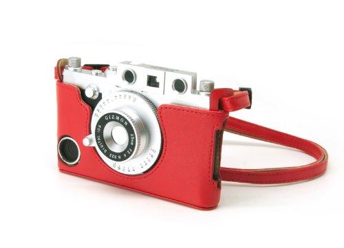Gizmon iCA GZ-ICA4020 Case und Strap für Apple iPhone 4/4S schwarz rot