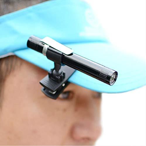 Stirnlampe Bewegliche Kopf Lampe Led Mini Clip Cap Krempe Licht Bait Platte Angeln Lampen Buch Licht Durch -
