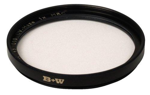 B+W UV-Haze- und Schutz-Filter (49mm, MRC, F-Pro, 16x vergütet, Professional)