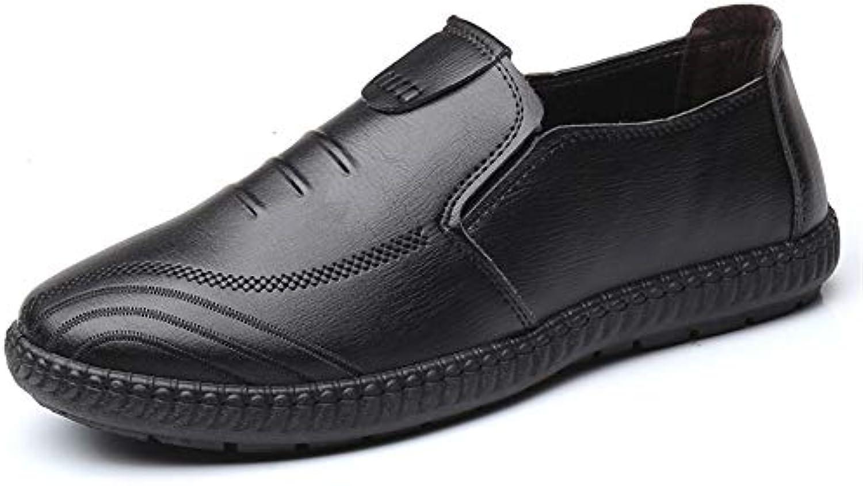 XHD-Scarpe Men's Fashion Oxford Daily Comodo Low Top con Punta rossoonda e Slittamento sulle Scarpe signorili | Outlet Online Store  | Scolaro/Signora Scarpa