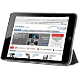 iPad Mini Case, TeckNet Slim Fit Smart Case PU Leather Cover With Stand For Apple iPad Mini 3, Min 2 and Mini 1, Included Screen Protector
