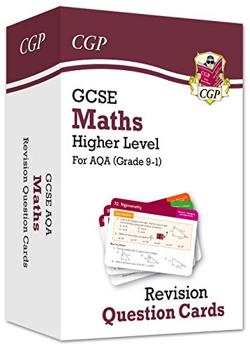 New Grade 9-1 GCSE Maths AQA Revision Question Cards - Higher (CGP GCSE Maths 9-1 Revision)