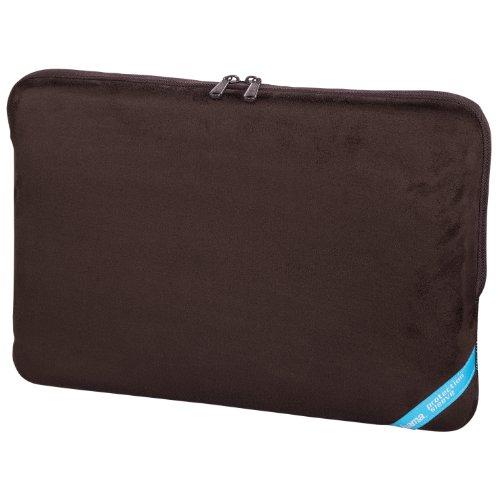 Hama 101209 Velour Notebook-Sleeve bis 40 cm (15,6 Zoll) braun