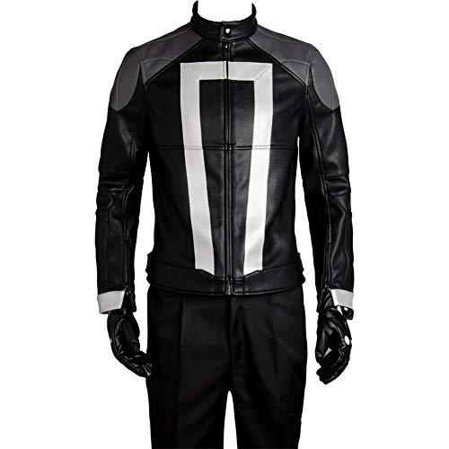 MingoTor Ritter Cosplay Kostüm Outfit Herren L (Shield Agent Kostüm)