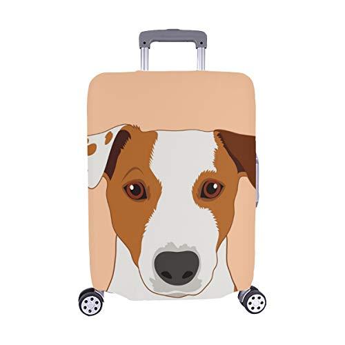 (Nur abdecken) Jack Russell Terrier Buddy Dog Staubschutz Trolley Protector case Reisegepäck-Schutzkoffer-Abdeckung 28,5 X 20,5 Zoll -