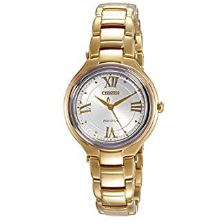 Citizen Analog White Dial Women's Watch-FE2043-52A