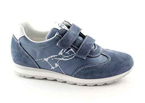 Nero Giardini Black Jardins Junior 25/34 29820 Chaussures de Bébé Bleu Espadrille Chicots