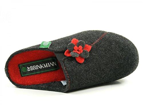 Cinza Brinkmann Damen Hausschuh Deslizador Grau Dr Dr Senhora De Brinkmann SqnzpCHwxX