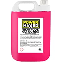 Power Maxed CSUW5000 - Champú con Cera para Coches, Concentrado, 5 l