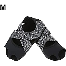 Calcetines de Yoga, Calzado de Mujer Calcetines Medias Puntas Antideslizante para Bar Pilates Ballet Deportes