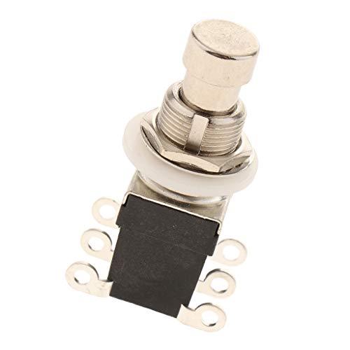 B Baosity 6 Pins Fußschalter Pedalschalter Druckschalter Drucktaster, Leicht Installation und Abnehmbar