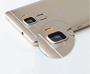 Genieforce® ?Premium Kamera Objektiv HD+ Panzerglas für Huawei Honor 7 - Kameralinse Panzerfolie - Sicherheitsglas Tempered Glass Protector - 0,2mm Hartglas - 9H Ultra Hart – 2.D Round Edge