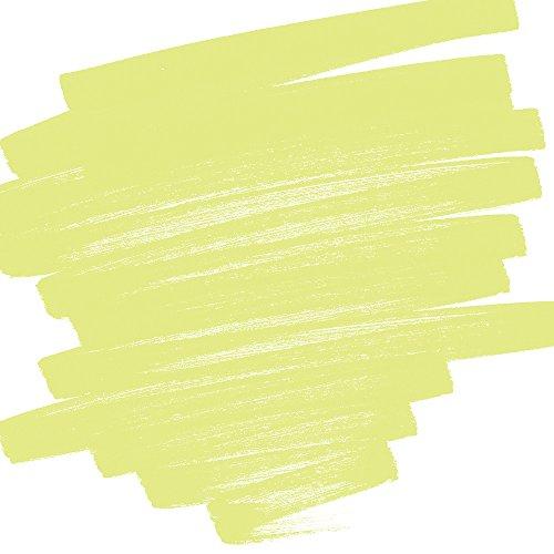 Gelb Alkohol-tinte (Stylefile Bürste Marker, gelb grün 666)