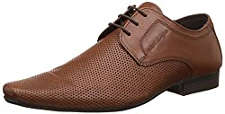 Red Tape Mens Tan Leather Formal Shoes - 7 UK/India (41EU)