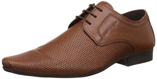 Red Tape Men's Tan Leather Formal Shoes - 8 UK/India (42EU)