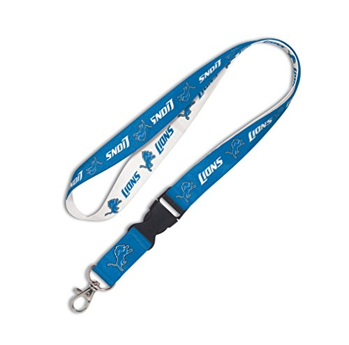 Wincraft NFL LANYARD WITH DETACHABLE BUCKLE DETROIT LIONS