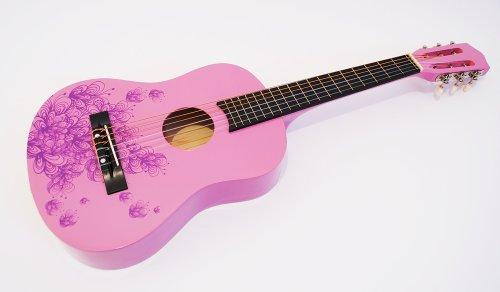 Kindergitarre Konzertgitarre im neuen Design (1/2, Modell 6) (Kleinkind Mädchen Decken Erhalten)