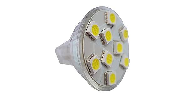 CABINET MR11 12 SMD LED 12V 10-30V DC // 10-18V AC 2.4W 200LM WHITE BULB ~25W