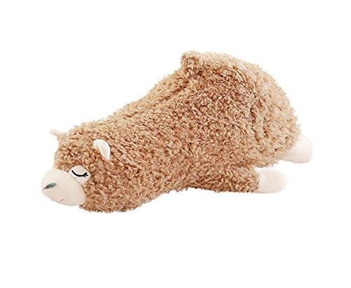 Alpaka Plüschtier Puppe niedliche Puppe Kissen als Geburtstagsgeschenk Puppe, braun (Tiere Hund Realistische Ausgestopfte)