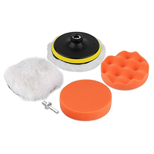 Paxten-TM-6pcs-127-cm-rotella-di-lucidatura-tampone-di-lucidatura-auto-Car-kit-con-adattatore-trapano-M10-buffer-alta-lordo-di-vendita-caldo