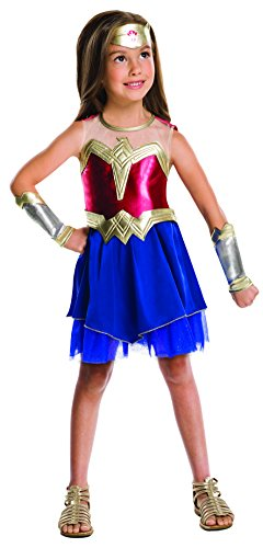 Rubie's IT620428 - Costume Wonder Woman, 7-8 anni