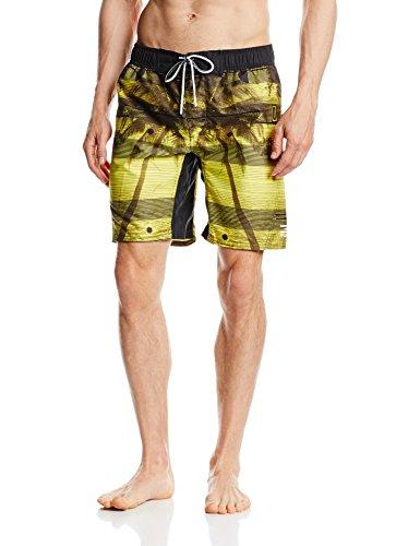 Jack & Jones Tech Herren Schwimmhose Clull Swimshorts Buttercup