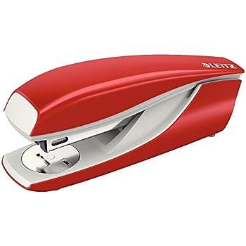 Blisterverpackung Anschlagschiene mit Formatvorgaben 51380025 40 Blatt Leitz Locher NeXXt Metall Rot