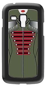 Modelabs Made In France Coque auto cicatrisante en silicone pour Samsung Galaxy S3 Mini Motif Armée Soldat Vert