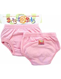 Bright Bots Potty (Rose Pâle, Lot de 2, taille L, 24–30 mois)