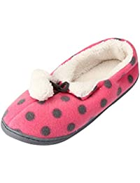 Damen Tuoxic 3.5CM Blockabsatz Schlüpfen Hausschuhe Schuhe, Blau, 34 Calaier