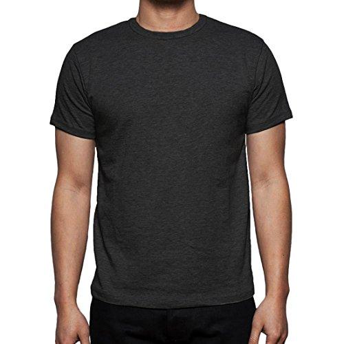 Neue Mens Gaffer Multi Pack viel reiner grundlegende Baumwolle lässig leere t-Shirt Top Charcoal