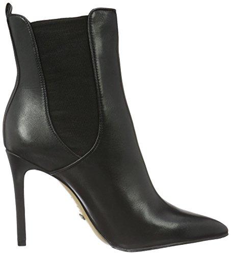Schutz Damen Skinny Boots Kurzschaft Stiefel Schwarz (Black)