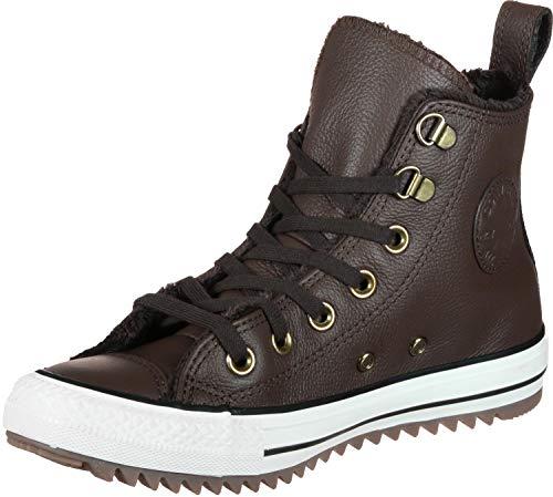Converse Unisex-Erwachsene CTAS Hiker Boot Fitnessschuhe, Mehrfarbig (Chocolate/Egret/Gum 200), 39.5 EU Mid Cut Hiker Boot