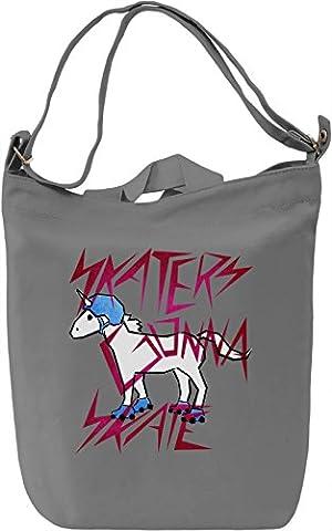 Skaters Gonna Skate Canvas Day Bag  100% Premium Cotton Canvas  DTG Printing  Unique Handbags, Briefcases, Sacks & Custom Fashion Accessories For Men &
