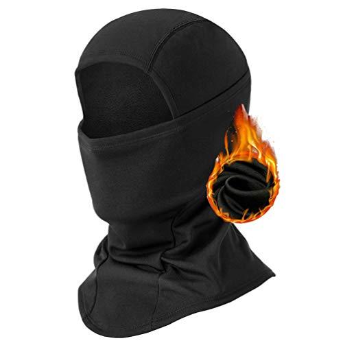 BAONUOR Sturmhaube Motorrad Gesichtshaube | Balaclava Winter | Skimaske | Motorradmaske Winter Gesichtsmaske,sturmmaske für Damen & Herren,skimaske Fahrrad Maske schwarz